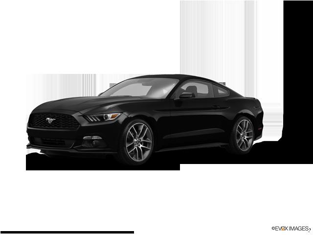 2015 Ford Mustang EcoBoost, Black (Black), Rear Wheel