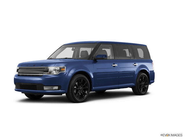 2018 Ford Flex SEL, Blue (Blue), All Wheel