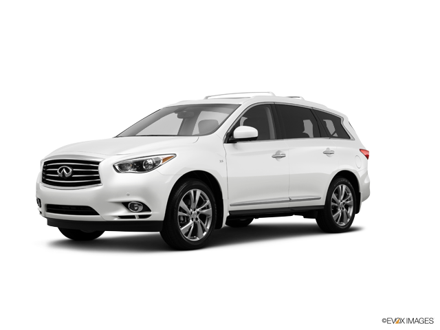2014 INFINITI QX60 Base, Moonlight White (White), All Wheel