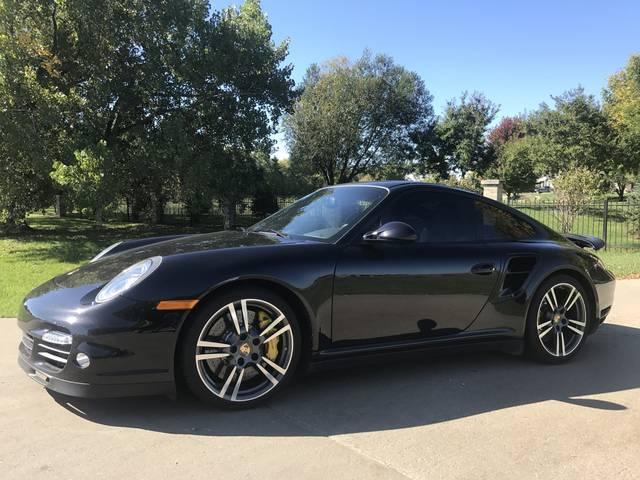 2013 Porsche 911 Turbo S, Basalt Black Metallic (Black), All Wheel