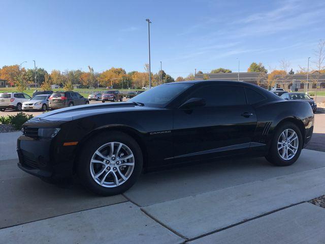 2014 Chevrolet Camaro LS, Black (Black), Rear Wheel