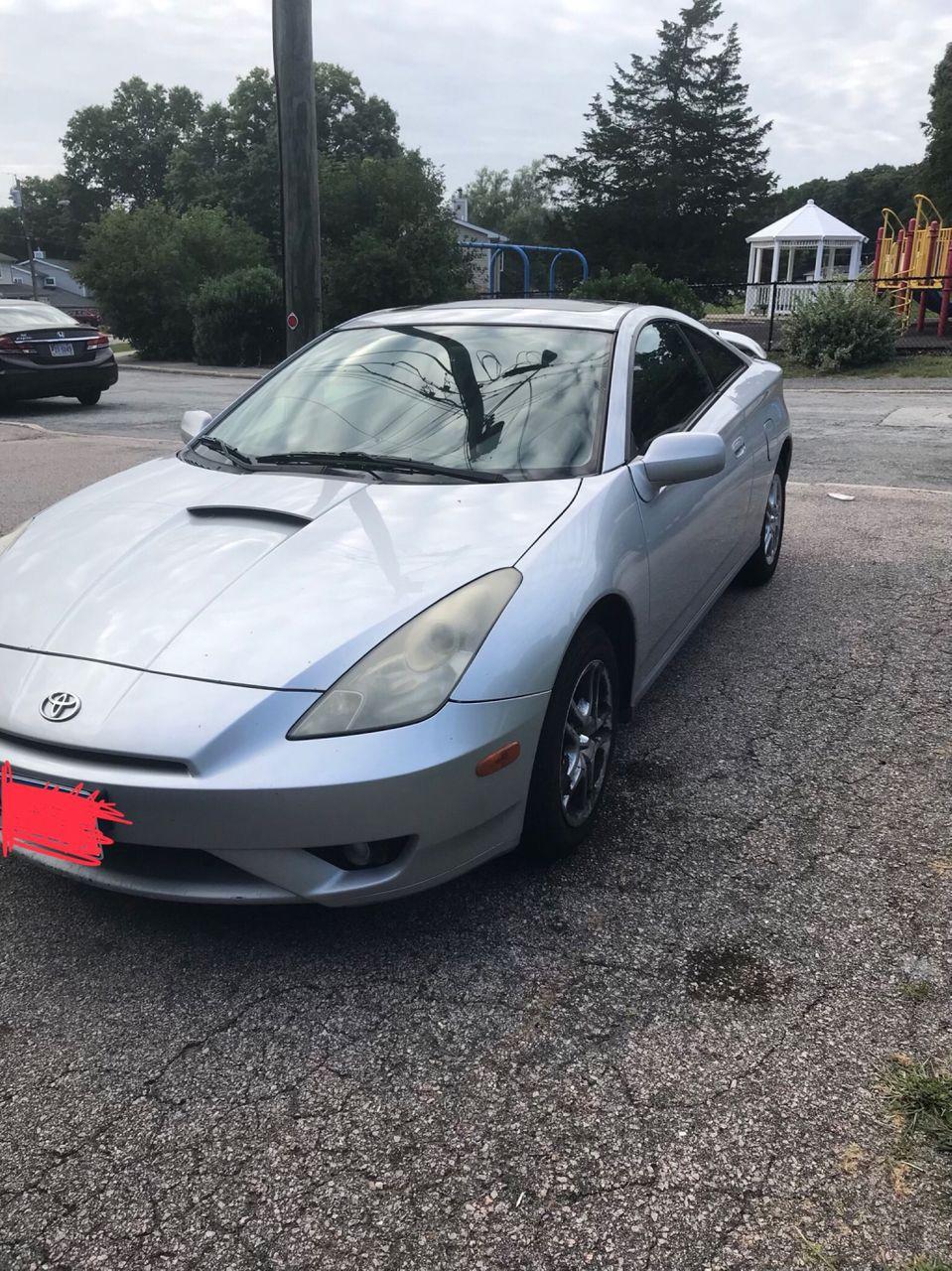 2003 Toyota Celica GT | Kings Bay, GA, Silver Streak Mica (Silver), Front Wheel