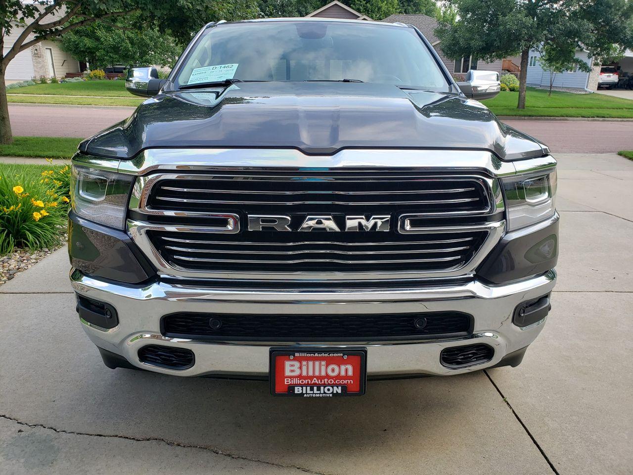 2019 Ram Ram Pickup 1500 Laramie   Brandon, SD, Granite Crystal Metallic Clear Coat (Gray), 4X4